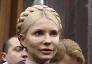 Тимошенко опровергает заявление ГПУ о ее добровольном нахождении у следователя