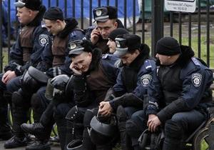 Против организаторов митинга оппозиции возле ЦИК составлены административные протоколы