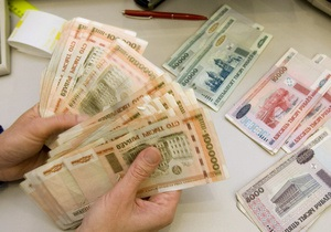 Курс белорусского рубля упал до исторического минимума