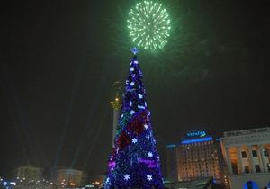 В новогоднюю ночь на Крещатике перекроют движение