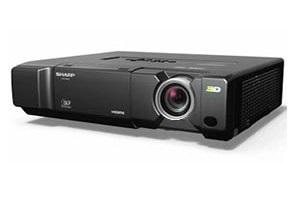 В России начались продажи нового 3D FULL HD проектора Sharp XV-Z17000.