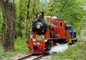 В Киеве откроется детская железная дорога