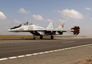 Названа предварительная причина крушения МиГ-29 в России