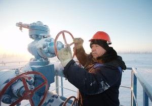 Стала известна цена российского газа в первом квартале 2013 года