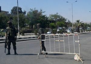 В Дамаске произошла серия терактов у правительственных зданий, есть жертвы