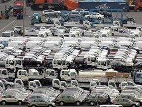 Объем ввоза автомобилей в Украину уменьшился в семь раз