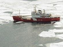 Американский ледокол измеряет арктический шельф