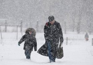 МЧС предупреждает: в Украину возвращаются снегопады