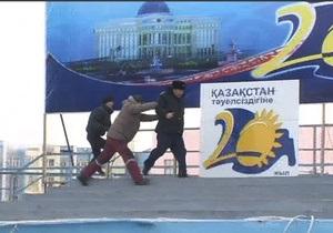 В Казахстане задержали участников акции против насилия  в Жанаозене