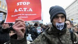В Польше протестуют против введения цензуры в интернете