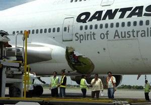В Австралии самолет компании Qantas совершил экстренную посадку