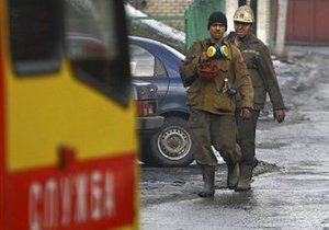 В Донецке горит шахта, все горняки спасены