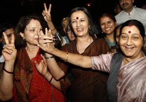 Треть мест в индийском парламенте предоставят женщинам
