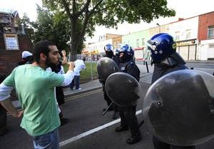 В пригороде Стокгольма вспыхнули беспорядки