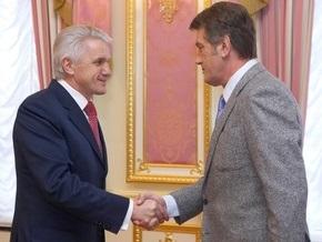 Сегодня Литвин встретится с Ющенко