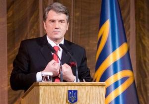 СП просит каналы не ставить после новогоднего поздравления Ющенко рекламу водки