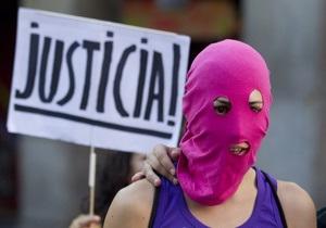 Запад осудил приговор участницам Pussy Riot