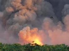 В Харьковской области из-за пожара изменилось движение поездов