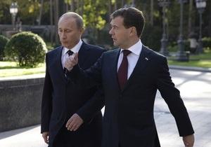 Рейтинги Путина и Медведева упали до самого низкого уровня за последние шесть лет