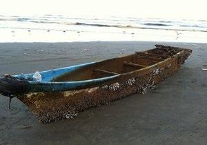 У побережья США нашли японскую лодку, предположительно унесенную цунами