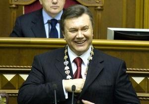 Газета: Януковича встретили закрытыми дверями