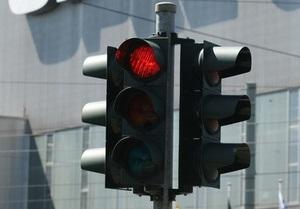 В Украине установят светофоры от Swarovski