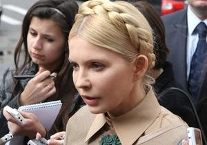 Тимошенко намерена вылететь в Нью-Йорк для участия в судебном заседании против Фирташа