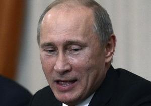 Путин не видит ошибок в своей работе
