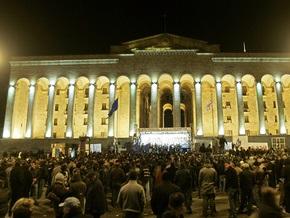 Саакашвили не собирается в отставку. Оппозиция начинает акции неповиновения