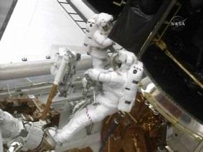 Экипаж Atlantis завершил третий выход в открытый космос