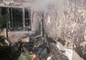 В Киеве при пожаре в квартире погиб мужчина