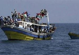 Израильские корабли взяли под конвой  флотилию свободы