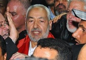 Лидер исламистов Туниса вернулся из ссылки