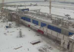 Терминал D аэропорта Борисполь обещают сдать в 2012 году