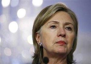 Клинтон  попросила у украинской власти гарантий свободы прессы