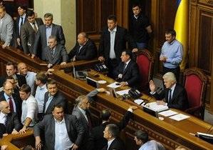 Голосование по законопроекту о языках: Литвин обвинил большинство и оппозицию в сговоре