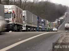 На польско-украинской границе стоят многокилометровые очереди