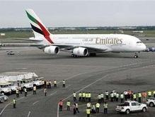 Airbus A380 осуществил свой первый регулярный рейс в Нью-Йорк