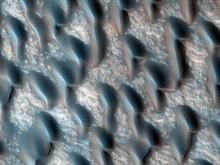 Над Марсом зафиксирован снегопад
