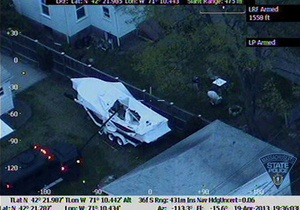 Американский журнал опубликовал фотографии с места ареста Царнаева