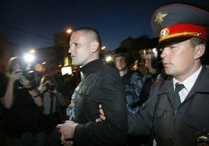 Навальный и Удальцов задержаны во время  народных гуляний