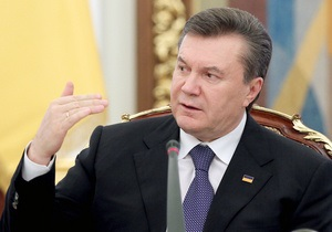 Менее чем за два года до выборов Янукович подписал указ о неотложных мерах по ускорению экономических реформ
