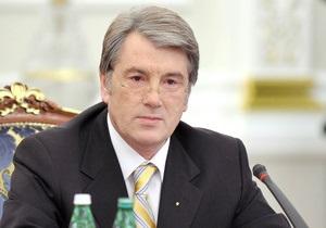 Ющенко подписал закон о выделении средств на борьбу с гриппом