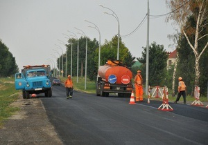 Укравтодор объяснил ремонт дороги к Межигорью требованием УЕФА