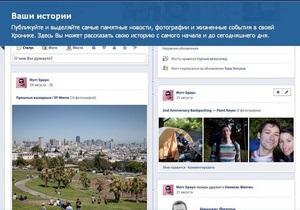СМИ узнали, когда публичные Facebook-страницы получат доступ к Timeline