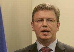 10 января Украину посетит еврокомиссар по вопросам расширения и политики соседства