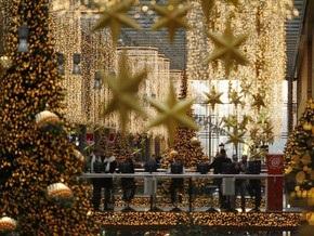 В Нью-Йорке в супермаркете загорелись рождественские ели