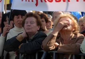 Священники Московского патриархата пытались заглушить речь Тимошенко хоровым пением