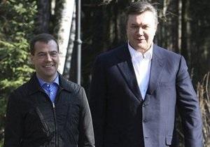 Источники: Сегодня Медведев и Янукович объявят о снижении цены на газ для Украины на треть