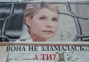 НГ: Решение судьбы Тимошенко отложено